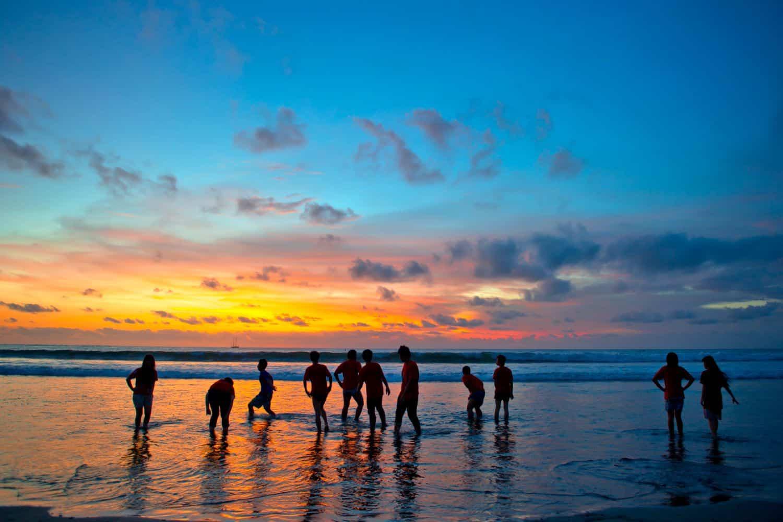 Lombok Reise-Tipps – Sonnenuntergang am Kuta Strand