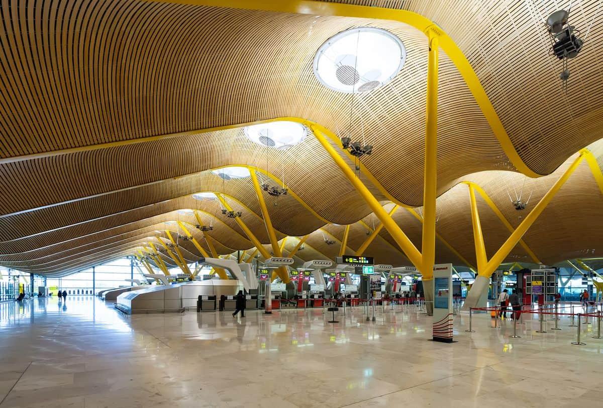 Madrid-Reise – Terminal am Flughafen Barajas
