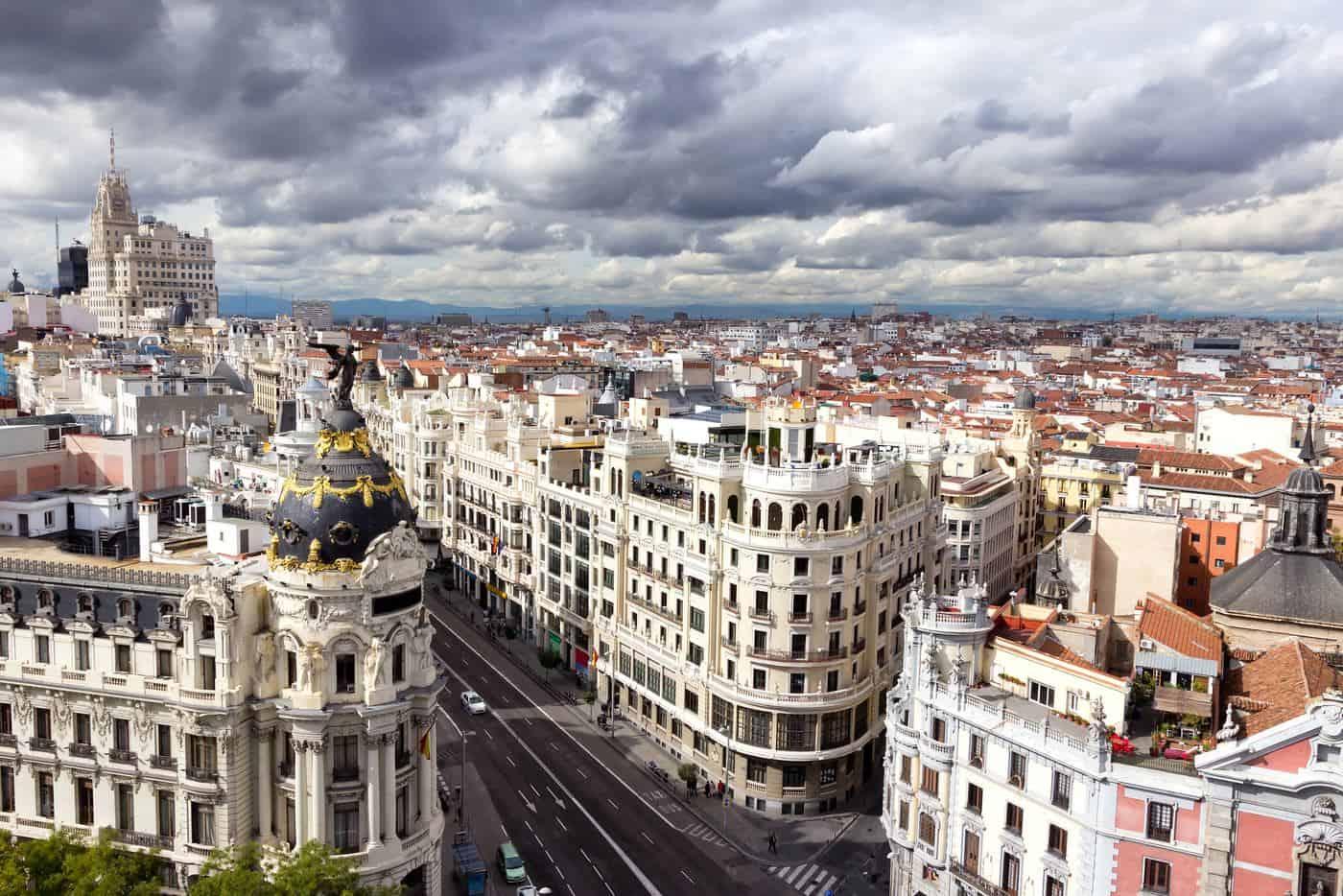 Madrid-Reise – Blick auf die Stadt
