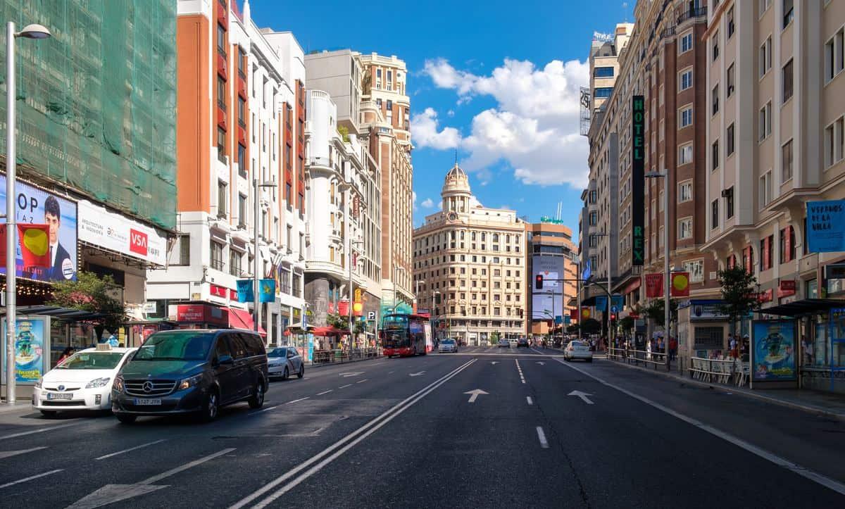 Madrid-Reise – Gran Via