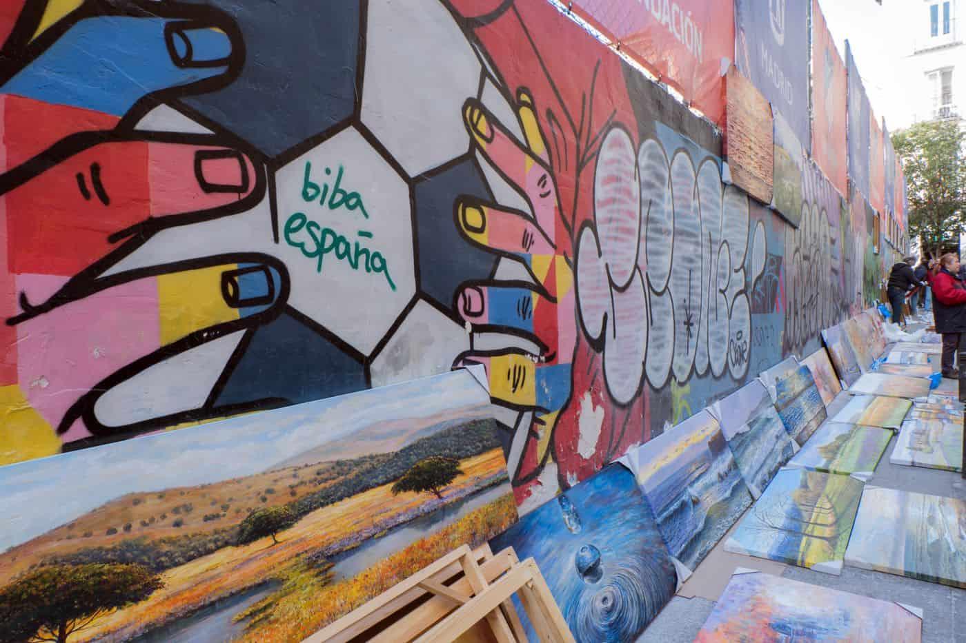 Madrid-Reise – El Rastro Flohmarkt