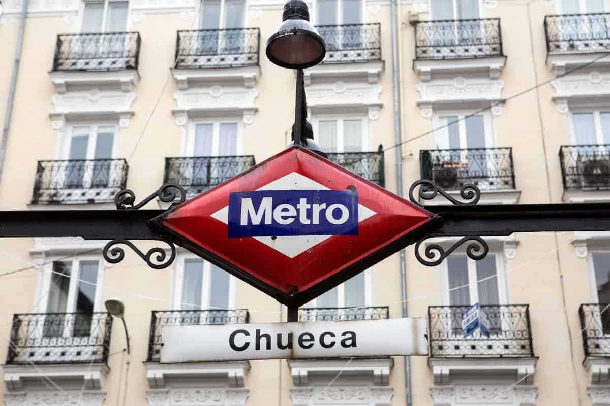 Madrid-Reise – Metro-Station Chueca