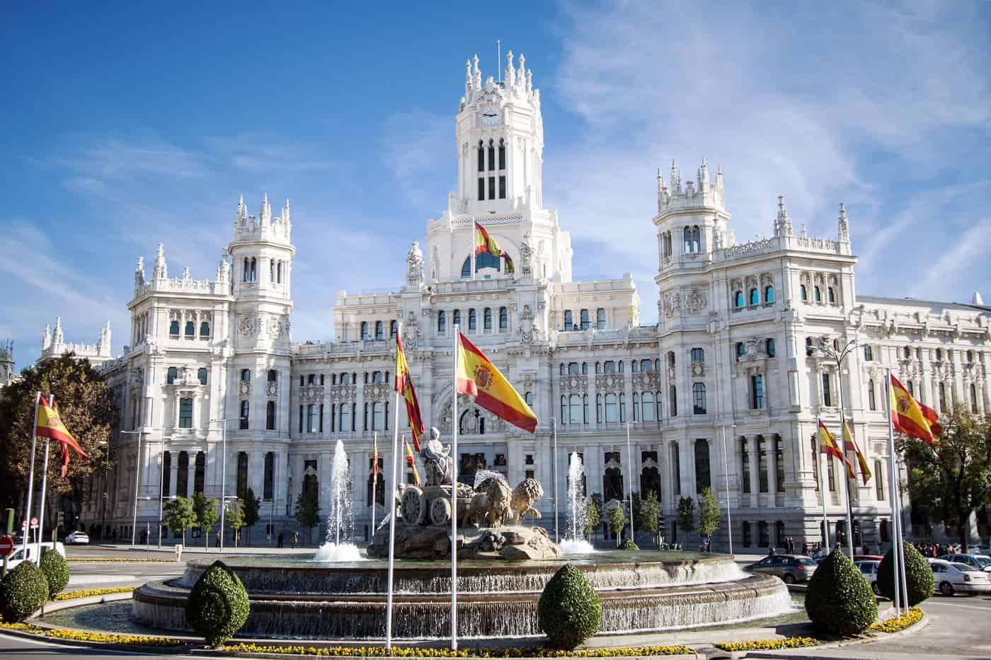 Madrid-Reise – Plaza de Cibeles