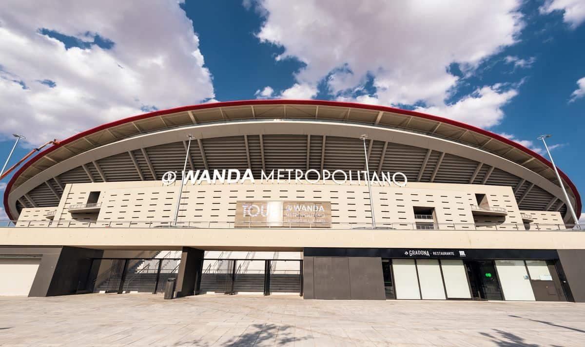 Madrid-Reise – Wanda Metropolitano Stadion