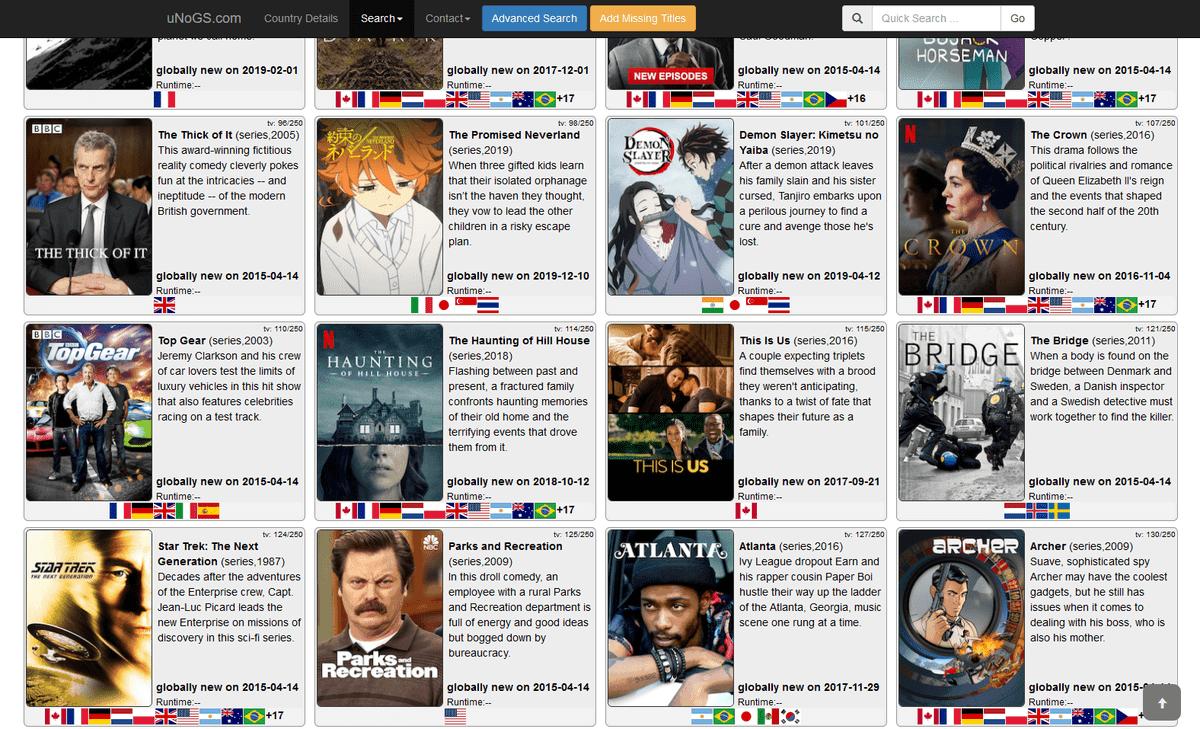 Netflix USA –