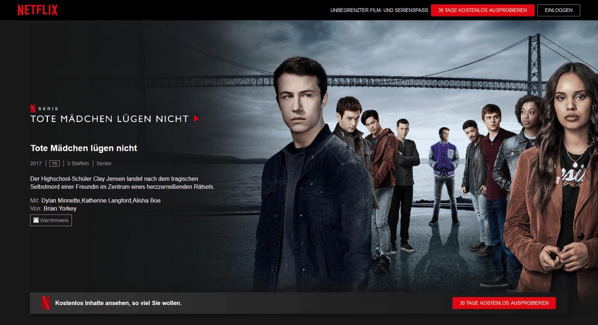 Netflix kündigen – Verfügarkeit bei Streaming-Anbietern prüfen