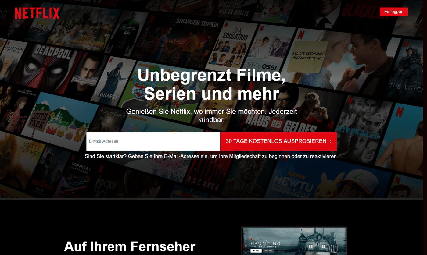 The Flash Netflix Startseite