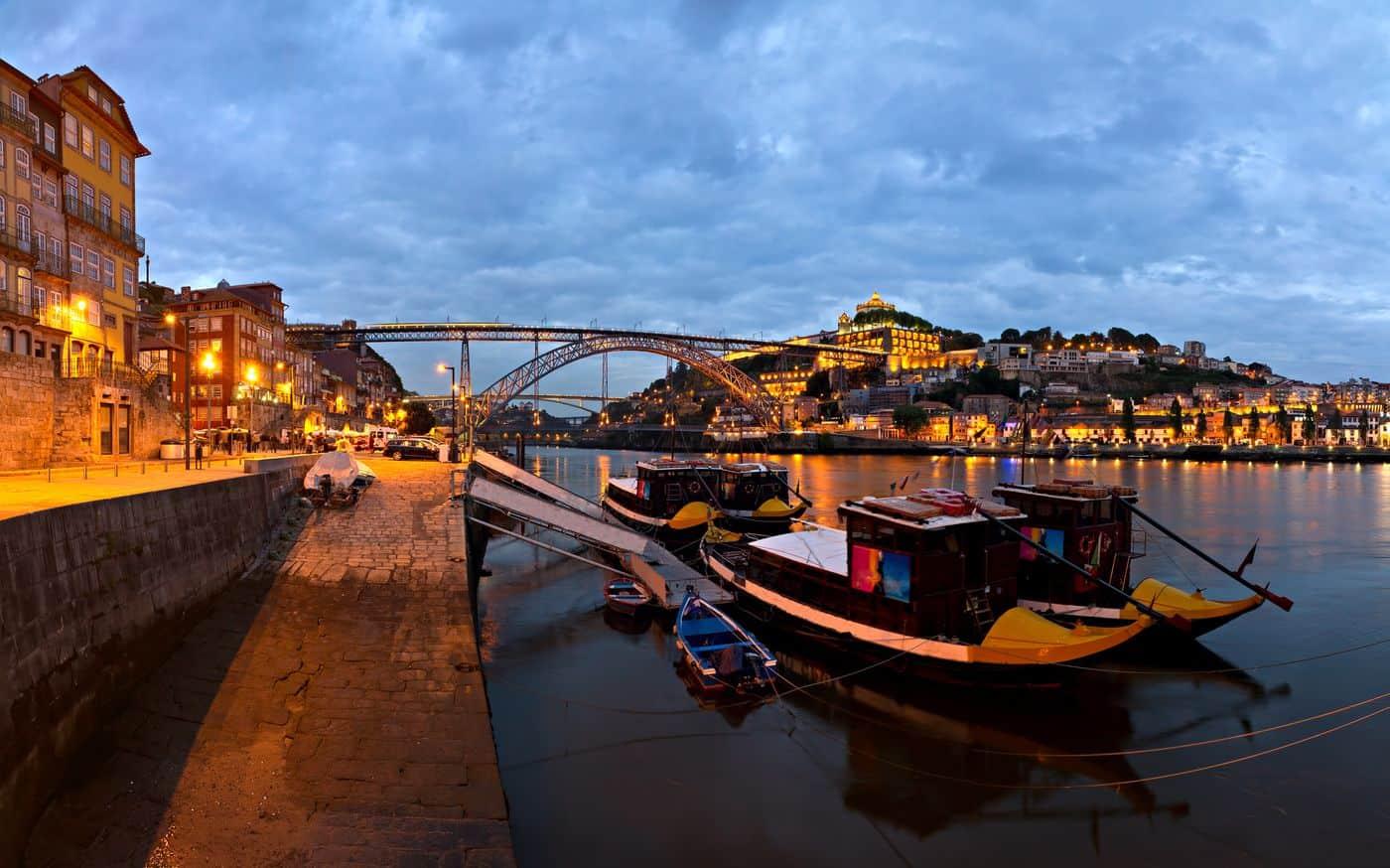 Portugal Reise-Tipps – Porto am Flussufer des Douro