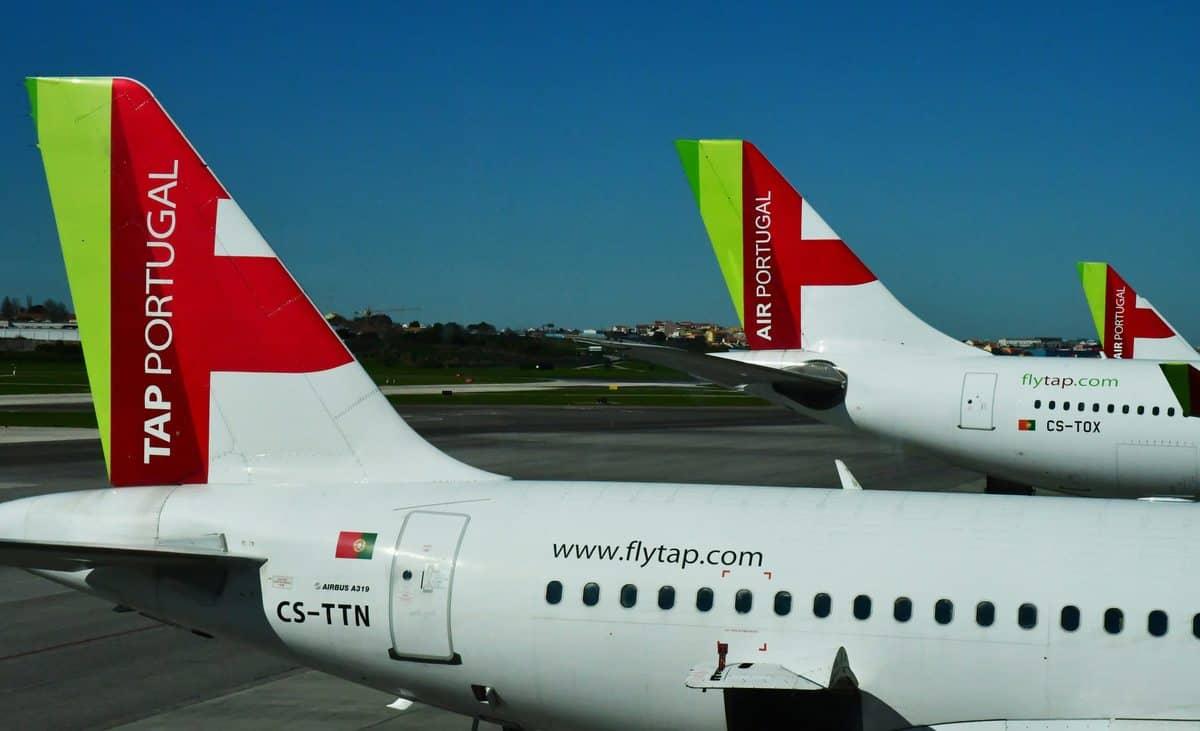 Portugal Reise-Tipps – Zwei Flugzeuge der Air Portugal (TAP) Fluggesellschaft