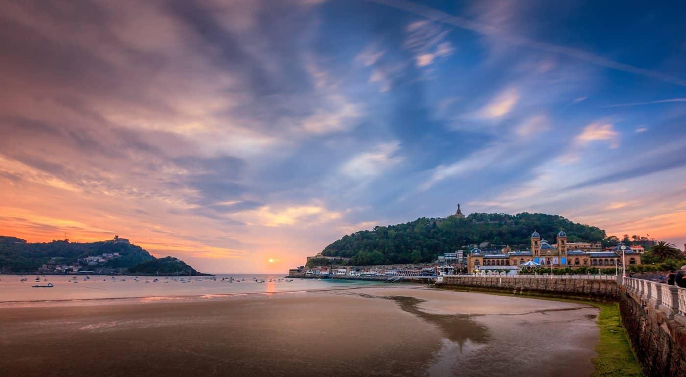 Spanien-Reise-Tipps - La Concha Strand in San Sebastian