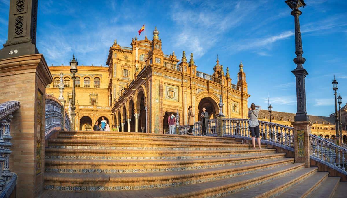 Spanien-Reise-Tipps - Plaza de España in Sevilla