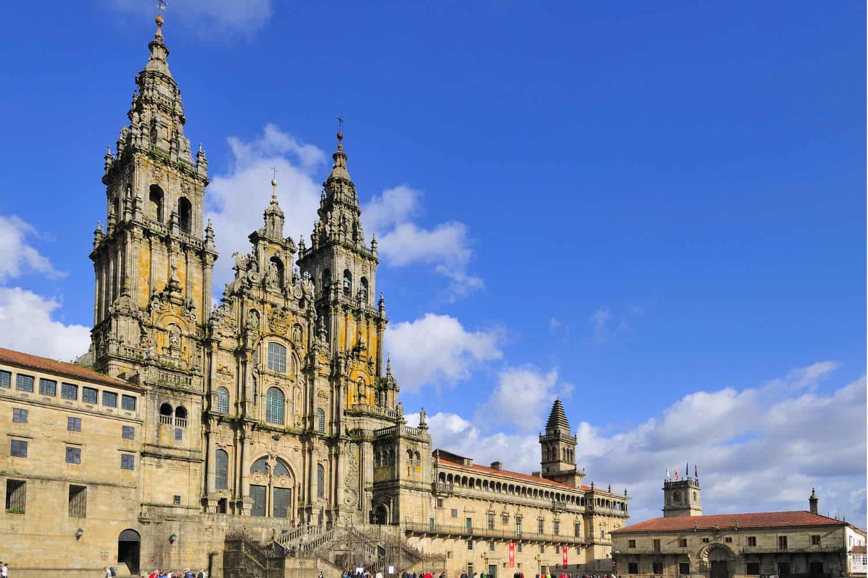 Spanien - Santiago de Compostela Kathedrale