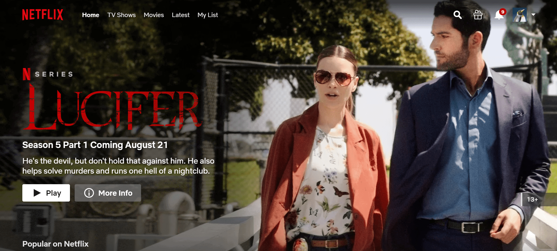 Netflix China Lucifer streamen