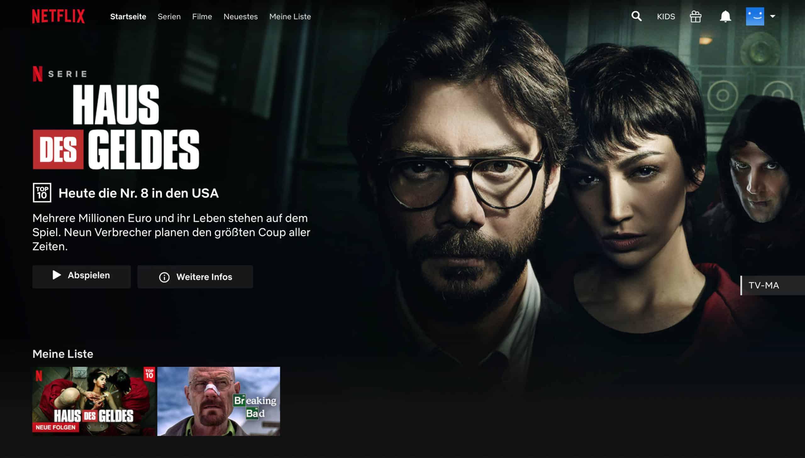 Netflix VPN legal nachher