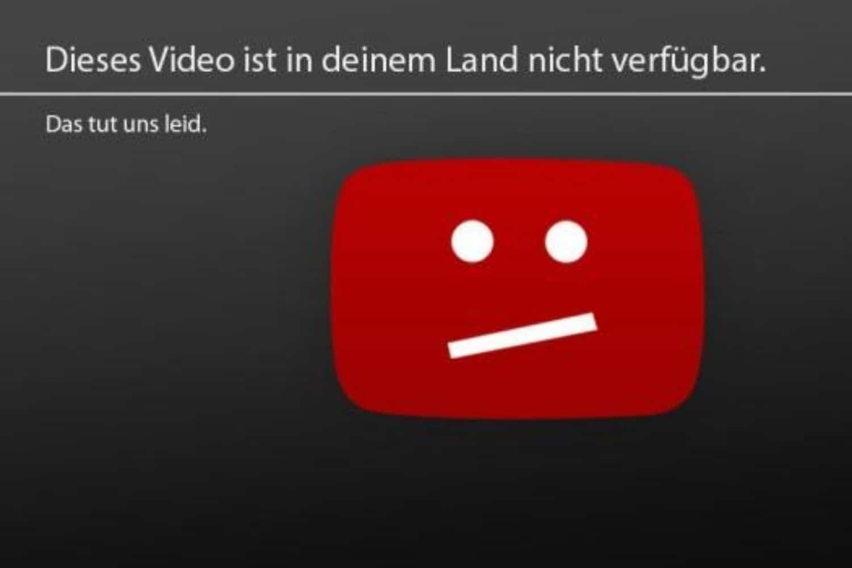 YouTube ländersperre nicht verfügbar