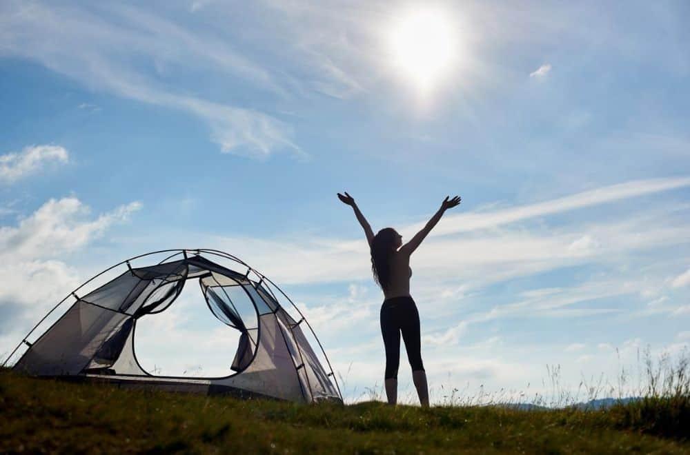 Camping Ostsee Zelten im FKK Camping Ostsee Rosenfelder Strand