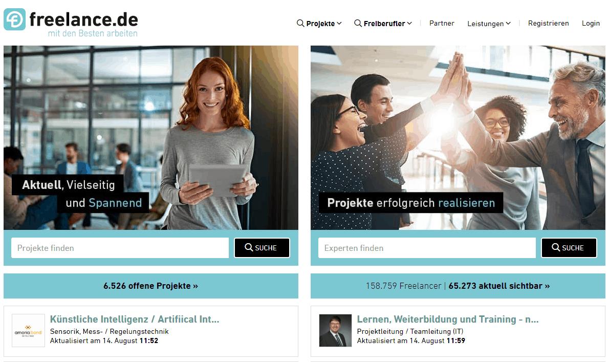 Digitaler Nomaden Jobs freelance.de