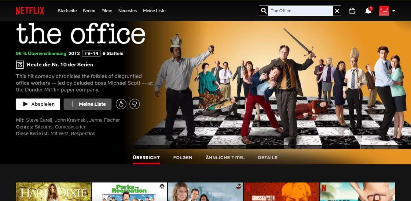 ExpressVPN Netflix The Office streamen