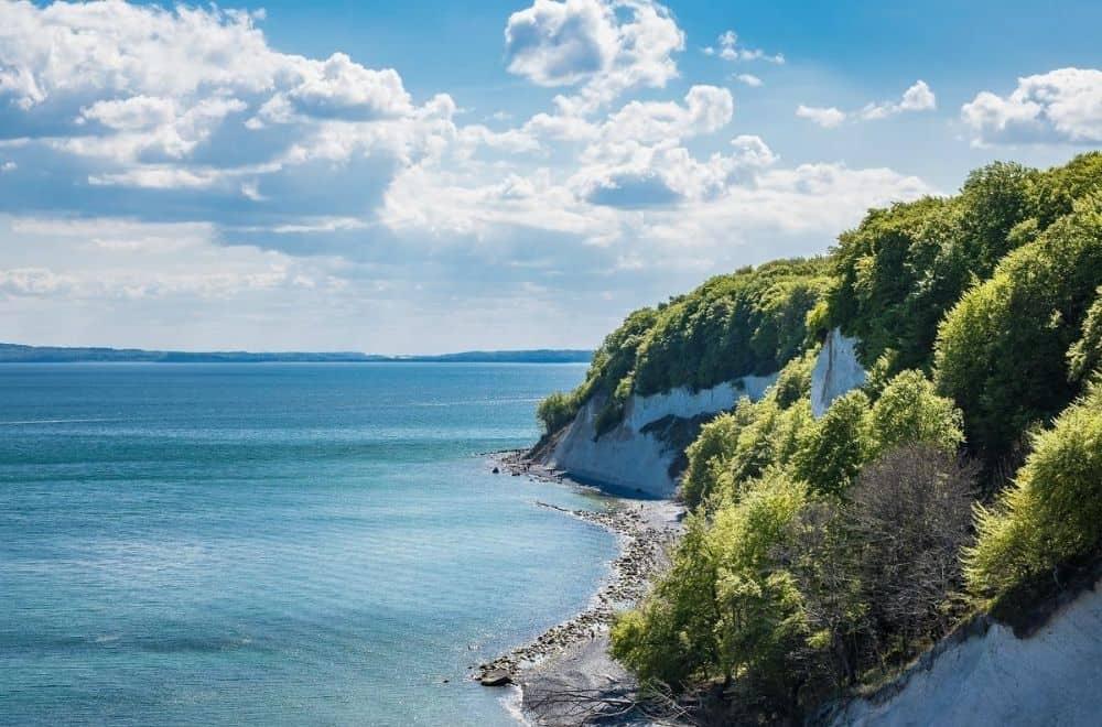 Ostsee Urlaub Kreidefelsen der Insel Ruegen
