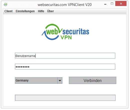 VPN Deutsch Websecuritas Software