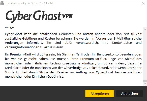 Cyberghost Netflix Cyberghost Installation