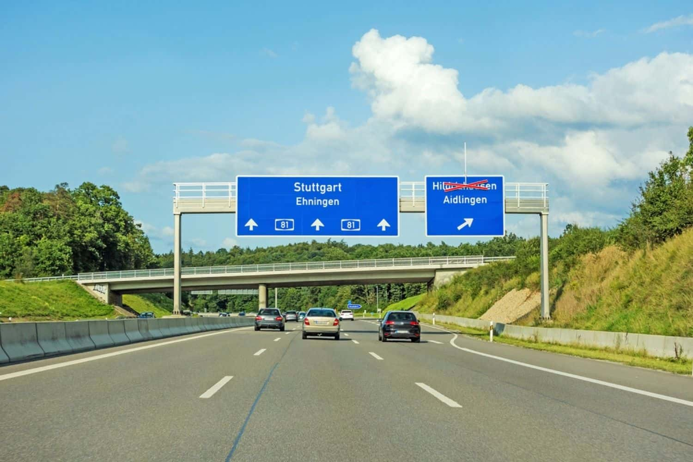 Ferien in Deutschland Autobahn