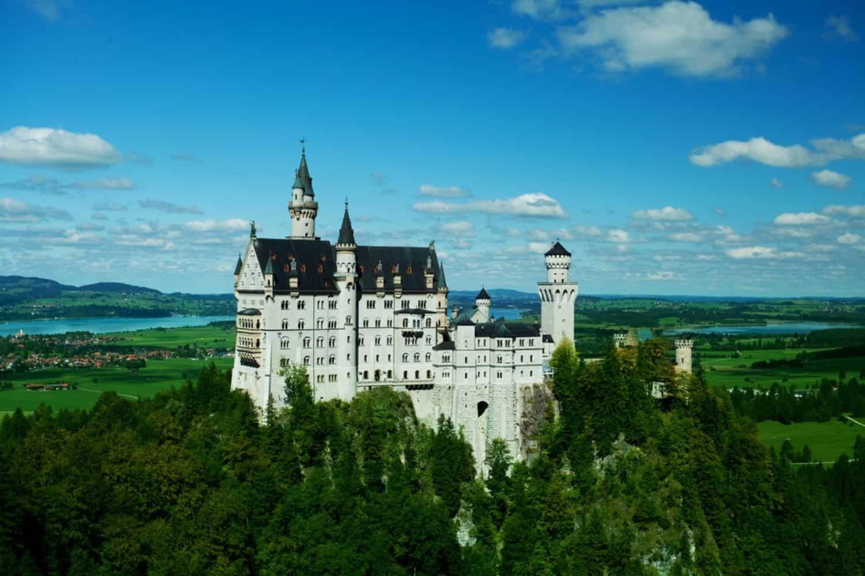 Ferien in Deutschland Schloss Neuschwanstein