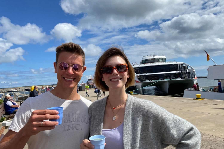 Helgoland Anreise Schiff