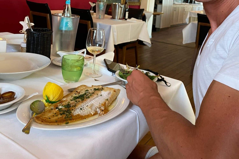Helgoland Rickmers Insulaner Fisch