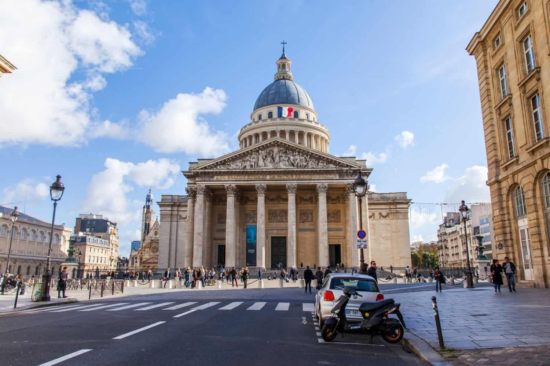 Paris Sehenswuerdigkeiten Das Gebaeude Des Pantheons