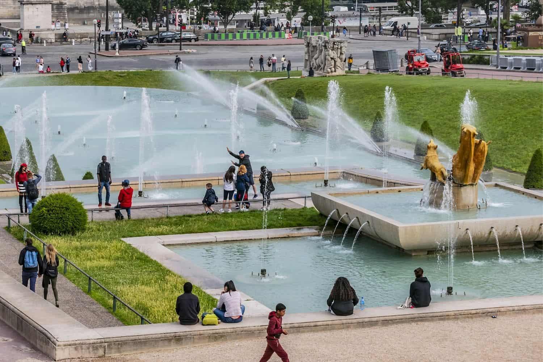 Paris Sehenswuerdigkeiten Jardin Du Trocadero