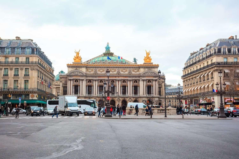 Paris Sehenswuerdigkeiten Opera Garnier