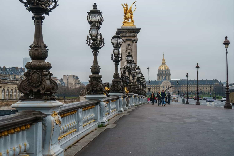Paris Sehenswuerdigkeiten Pont Alexandre III