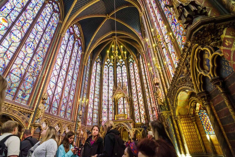 Paris Sehenswuerdigkeiten Sainte Chapelle