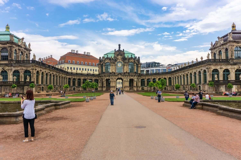 Ferien in Deutschland Dresdner Zwinger