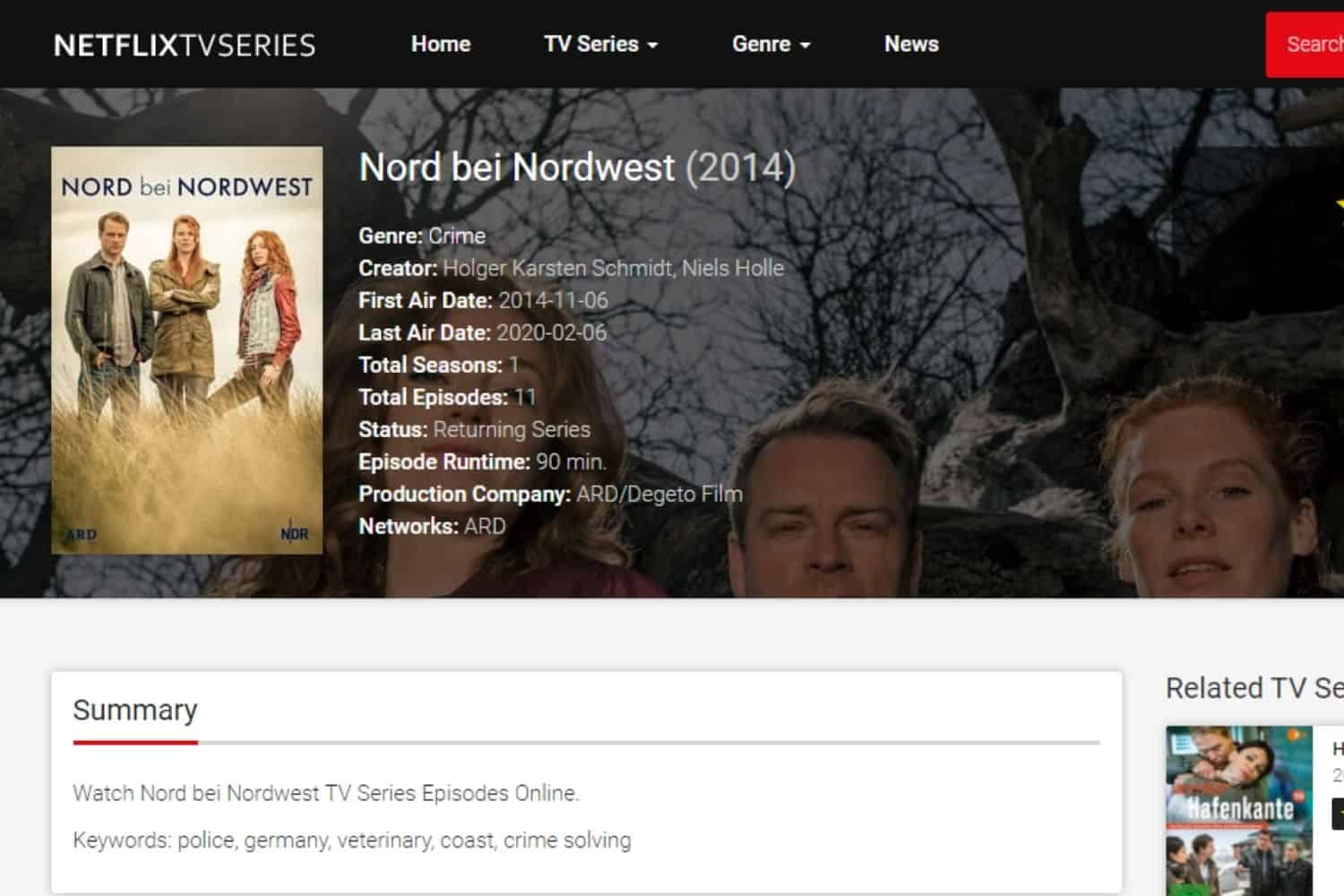 Fernsehserie Nord Bei Nordwest