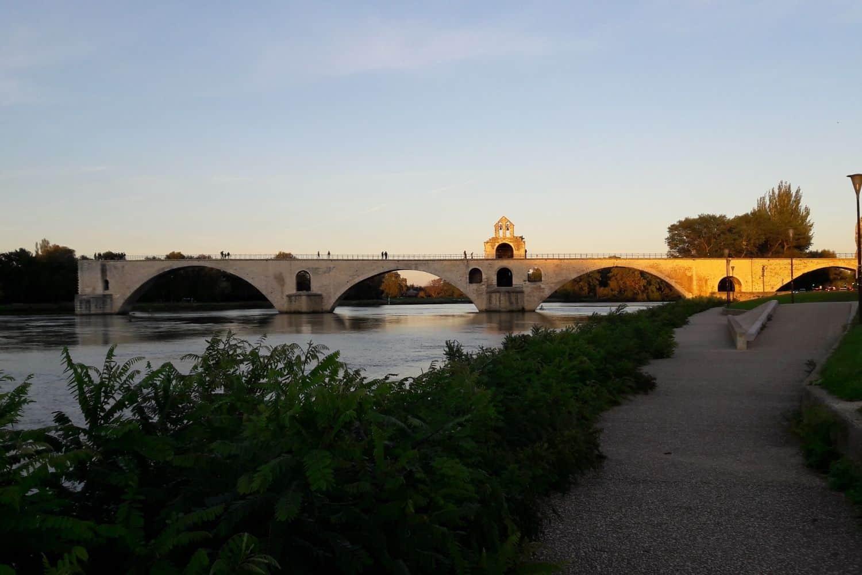 Frankreich Bruecke Avignon