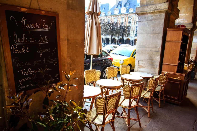 Frankreich Cafe Paris