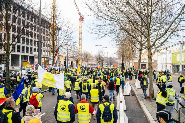 Frankreich Gelbwesten-Streik