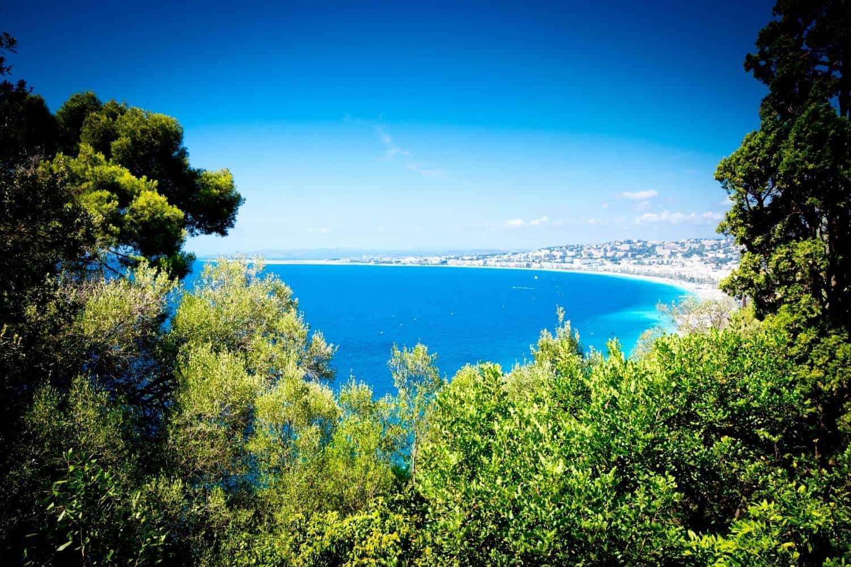 Frankreich Mittelmeer Strand
