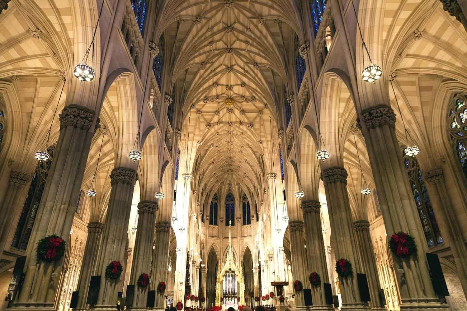 New York City St.Patrick's Cathedral Katakomben