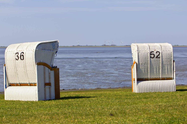 Ostsee Urlaub Schlafstrandkorb