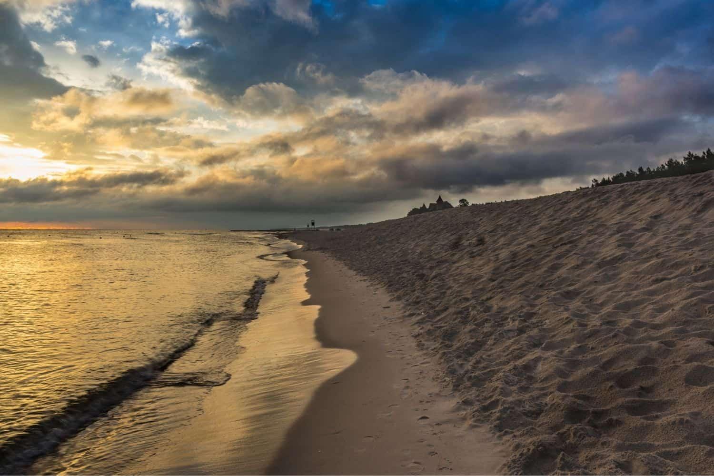 Polnische Ostsee Treptower Kueste