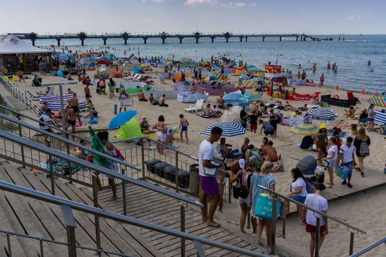 Stsee Strand Warnemuende