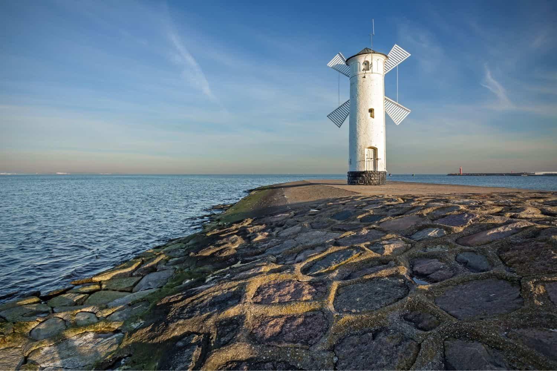 Polnische Ostsee Leuchtturm Swinemuende