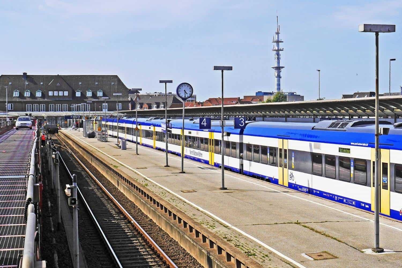 Sylt Deutschland Bahnhof Westerland