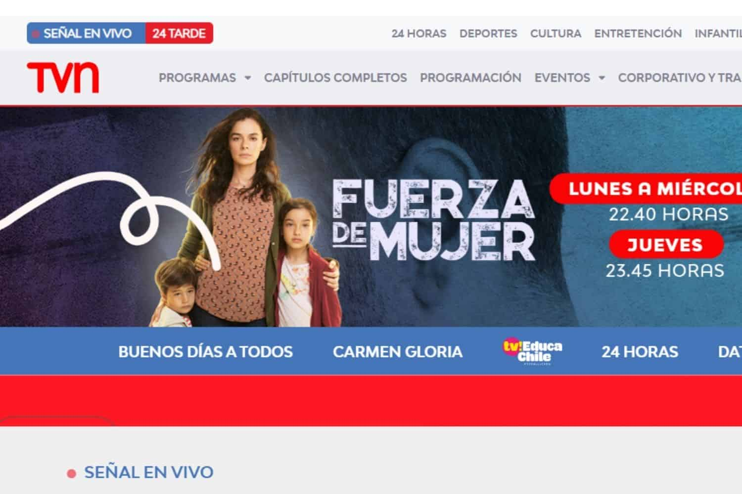 VPN Chile TVN