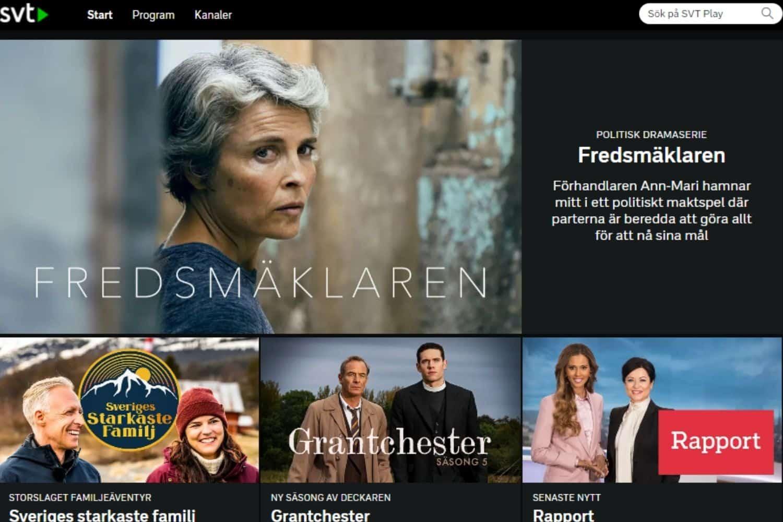 VPN Schweden SVT Mediathek