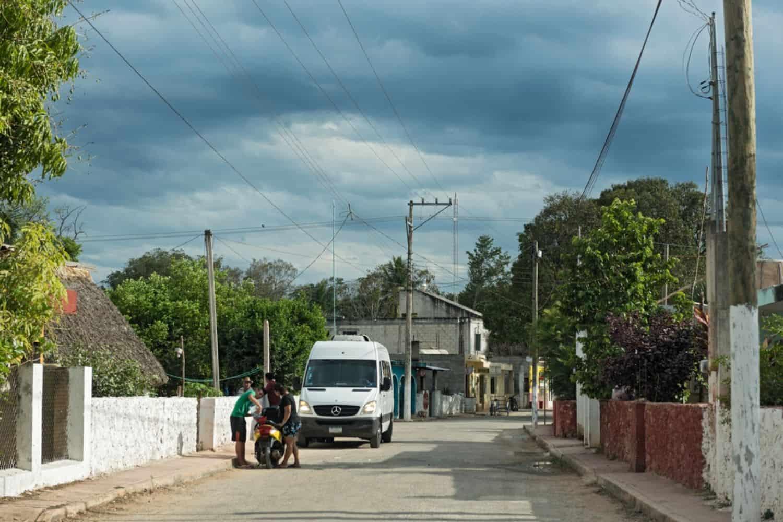 Yucatan Colectivos Minivan