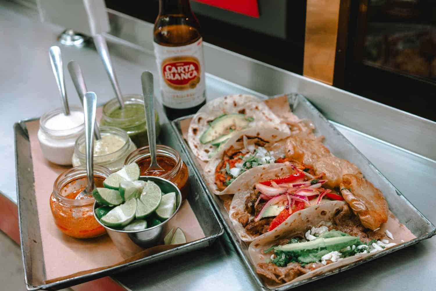 Yucatan Tacos und Bier
